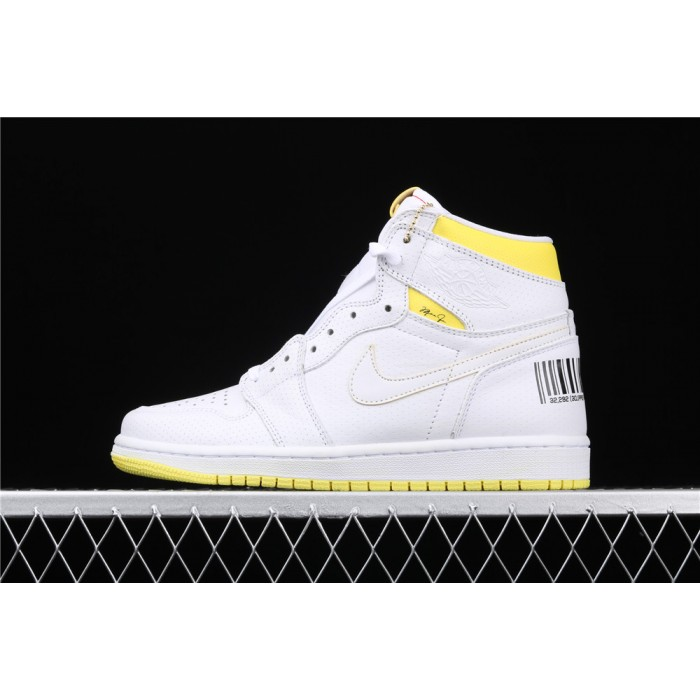 Air Jordan 1 High OG First Class FlightStyle White AJ1 Shoe