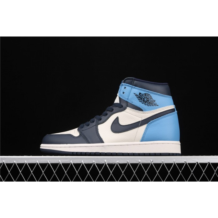 Air Jordan 1 High X OG Obsidian AJ1 Shoe