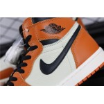 Air Jordan 1 Retro High OG White Orange AJ1 Shoe
