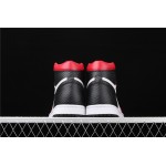 Air Jordan 1 WMNS Satin Snake White Black AJ1 Shoe