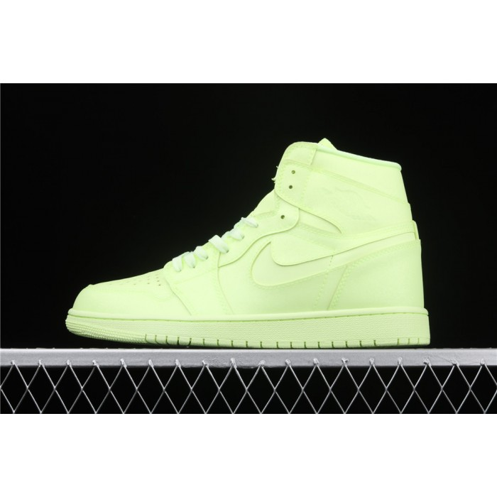 Men's Air Jordan 1 High Premium Fluorescent AJ1 Shoe