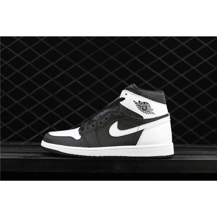 Men's Air Jordan 1 Retro High OG Black White 3M AJ1 Shoe