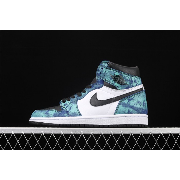 X Air Jordan 1 Fashion High Tie Dye AJ1 Shoe