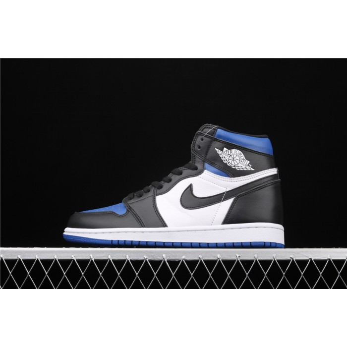 X Air Jordan 1 High 85 Black White Blue AJ1 Shoe