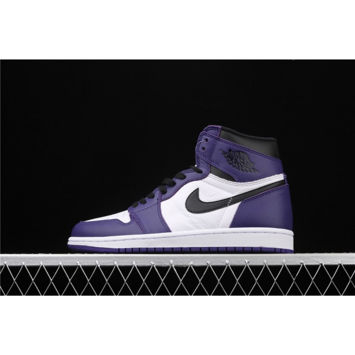 X Air Jordan 1 High Court Purple AJ1 Shoe