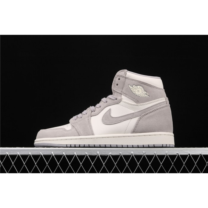 X Air Jordan 1 Retro High Prem Gray AJ1 Shoe
