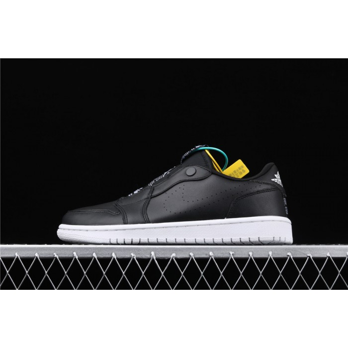 Air Jordan 1 Low Ret Low Slip Black White AJ1 Shoe