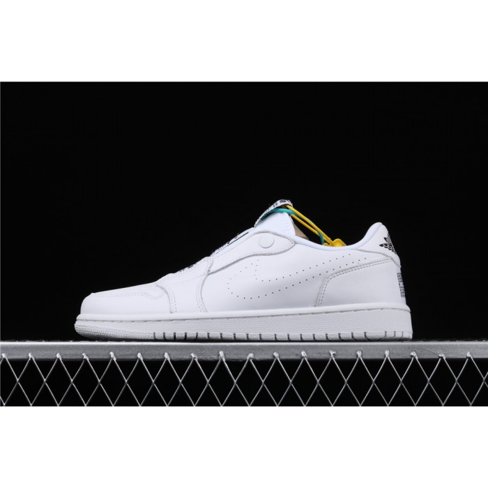 Air Jordan 1 Low Ret Low Slip Full White AJ1 Shoe