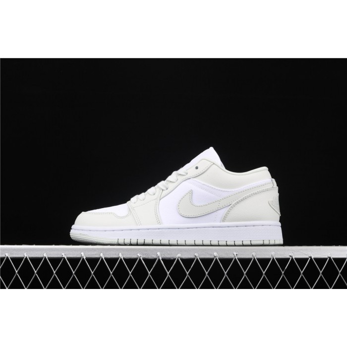 Air Jordan 1 Low Spruce Aura White AJ1 Shoe