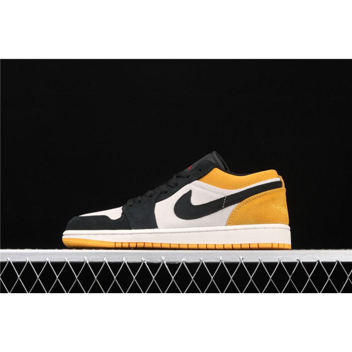 Air Jordan 1 Low University Gold Black AJ1 Shoe