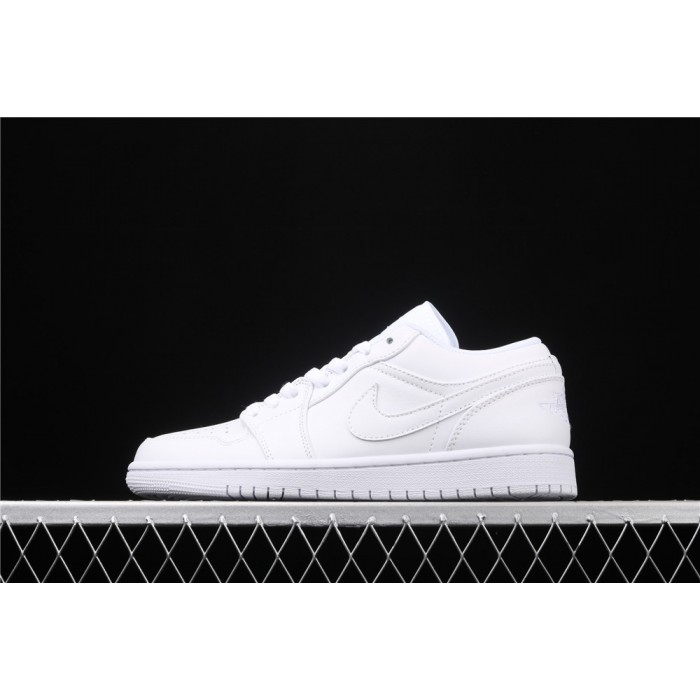 Men's Air Jordan 1 Low Full White Shoe