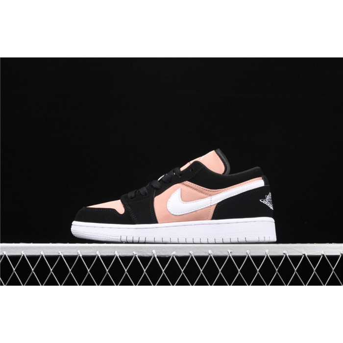 Women's Air Jordan 1 Low Black Pink Shoe
