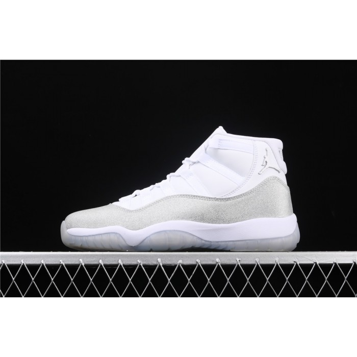 Air Jordan 11 In White Light Gray AJ11 Shoe