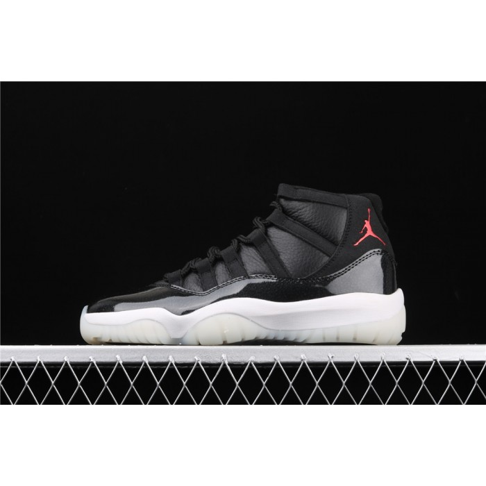 Men's Air Jordan 11 72 10 In Black White AJ11 Shoe