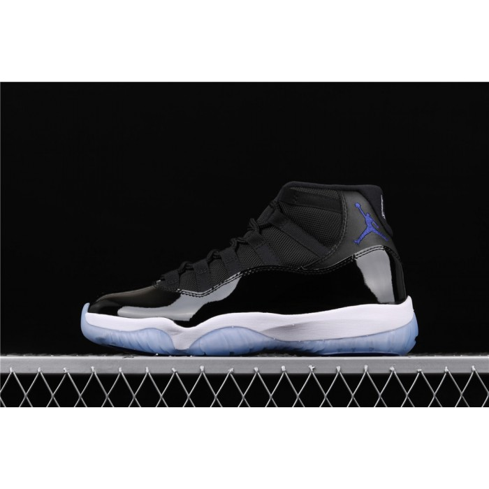 Men's Air Jordan 11 Space Jam In Black White AJ11 Shoe