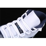 Men's Air Jordan AJ11 Win Like 82 In White Blue AJ11 Shoe