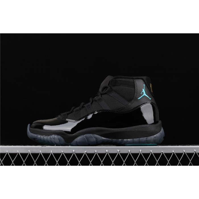 Men's Air Jordan Retro 11 Gamma In Light Black AJ11 Shoe