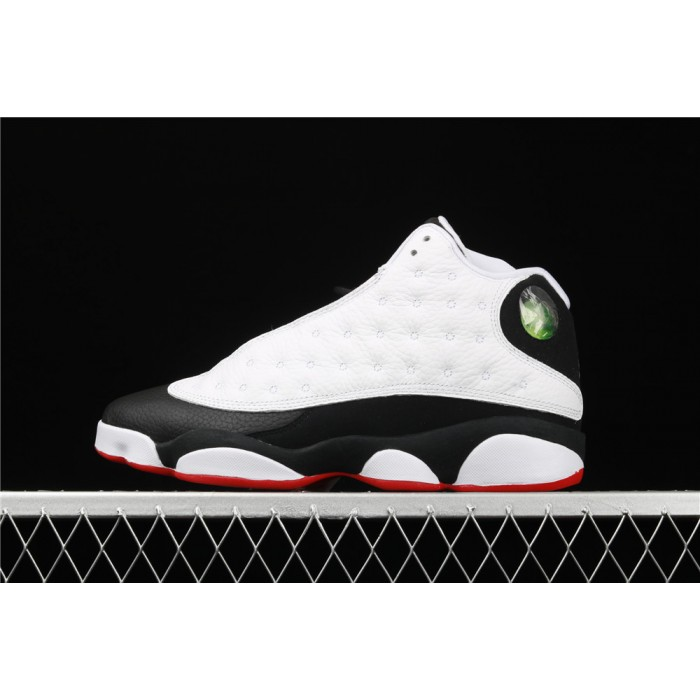 Air Jordan 13 Retro He Got Game In Black White AJ13 Shoe