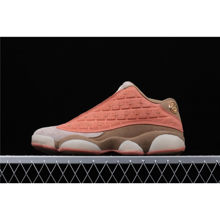 Clot x Air Jordan 13 Low Terracotta Warrior AJ13 Shoe