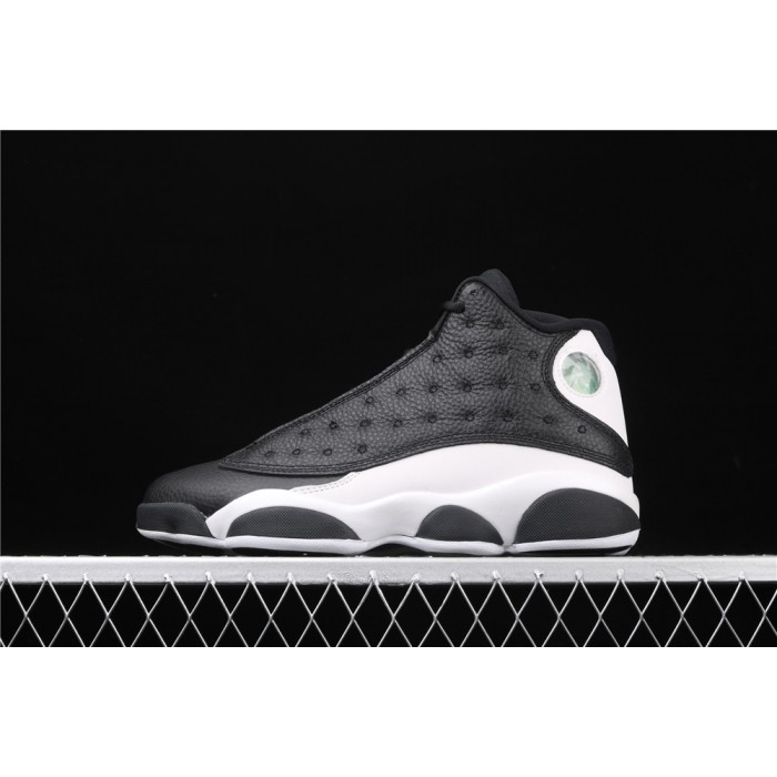 Men's Air Jordan 13 Reverse He Got Game In Black White AJ13 Shoes