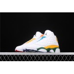 Women's Air Jordan 13 Playground In White Colorful AJ13 Shoe
