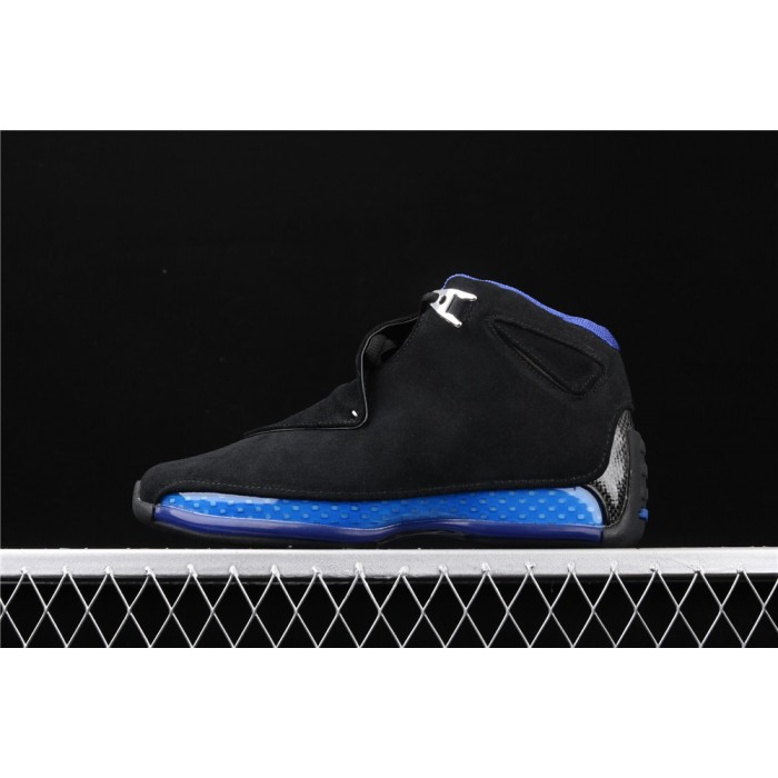 Men's Air Jordan 18 OG ASG In Black Blue AJ18 Shoe