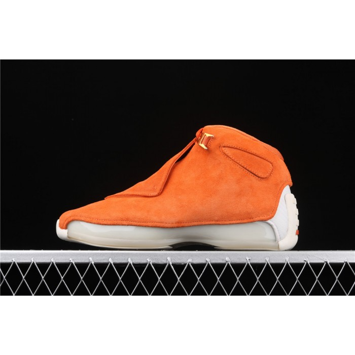 Men's Air Jordan 18 OG ASG In Orange AJ18 Shoe