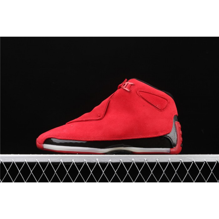 Men's Air Jordan 18 OG ASG In Red Black AJ18 Shoe