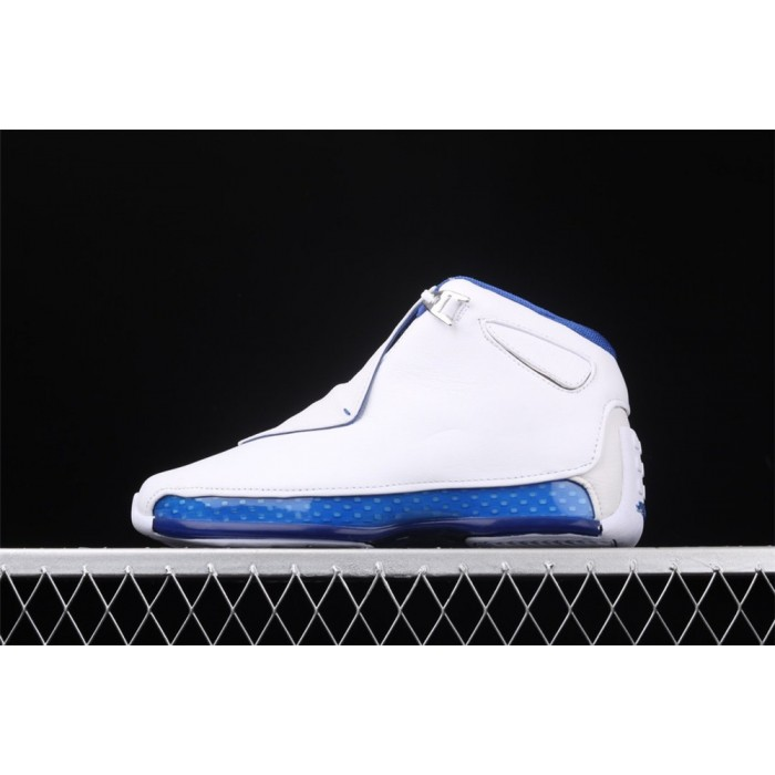 Men's Air Jordan 18 OG ASG Sport Royal White Blue AJ18 Shoe