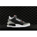 Air Jordan 3 Low Black Cement In Gray AJ3 Shoe