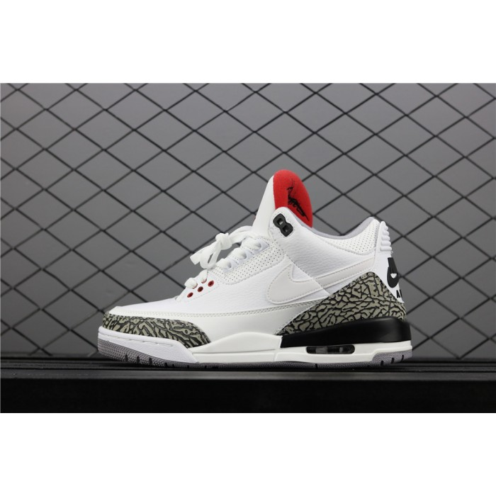 Men's Air Jordan 3 JTH NRG Tinker Hartfield In White AJ3 Shoe