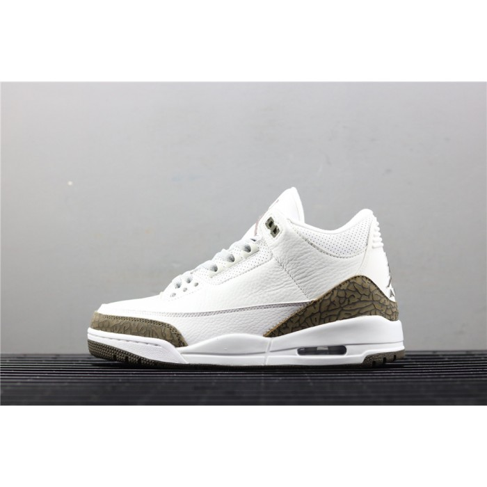 Men's Air Jordan 3 Mocha In White AJ3 Shoe