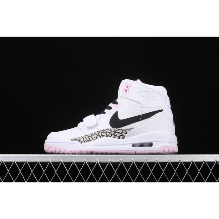Women's Air Jordan Legacy 312 In Pink White AJ3 Shoe