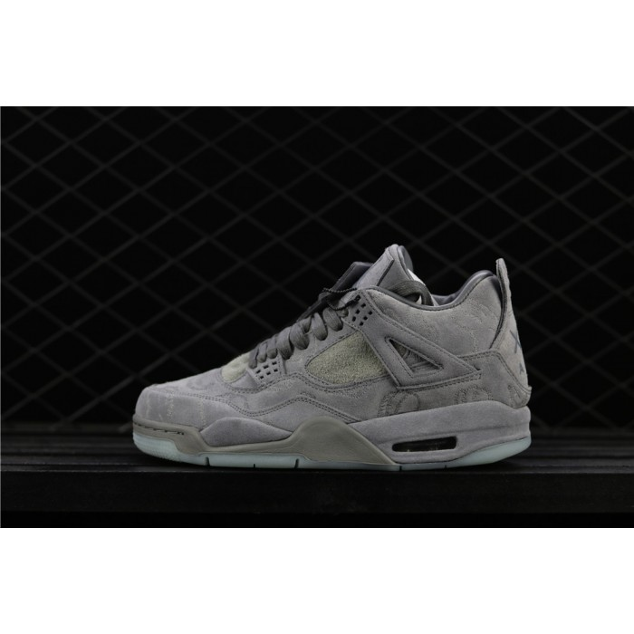Air Jordan 4 Luminous In Cool Grey AJ4 Shoe