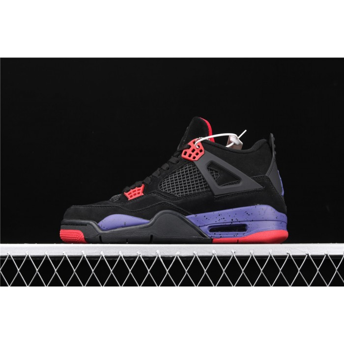 Air Jordan 4 NRG Raptors In Black Purple AJ4 Shoe