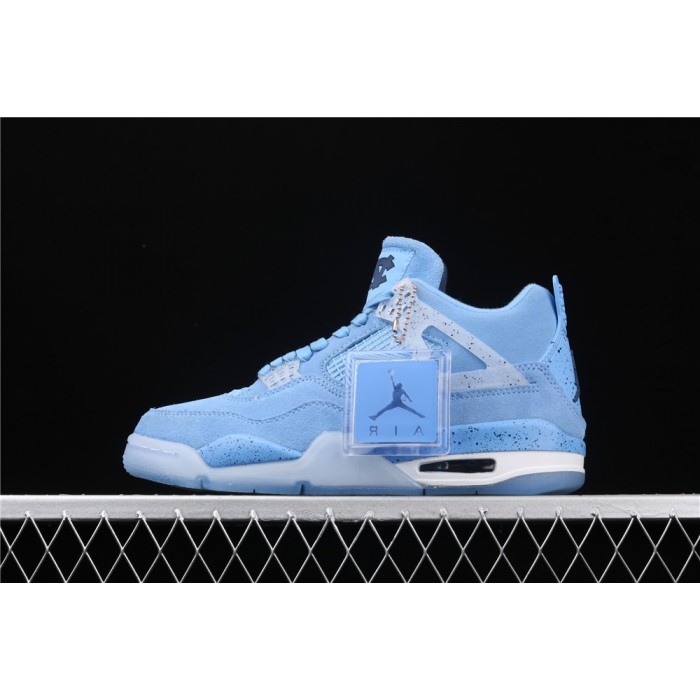 Men's Air Jordan 4 Retro CN In SkyBlue AJ4 Shoe
