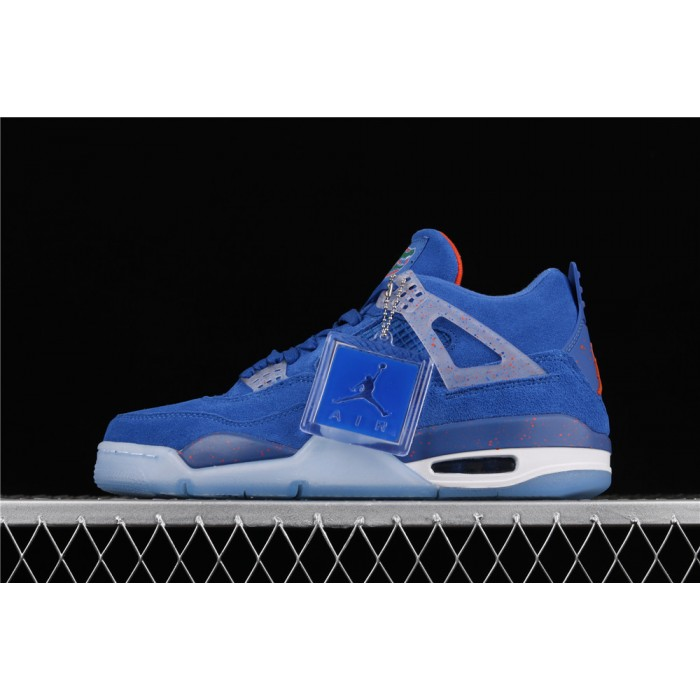 Men's Air Jordan 4 Retro Flight In Blue AJ4 Shoe