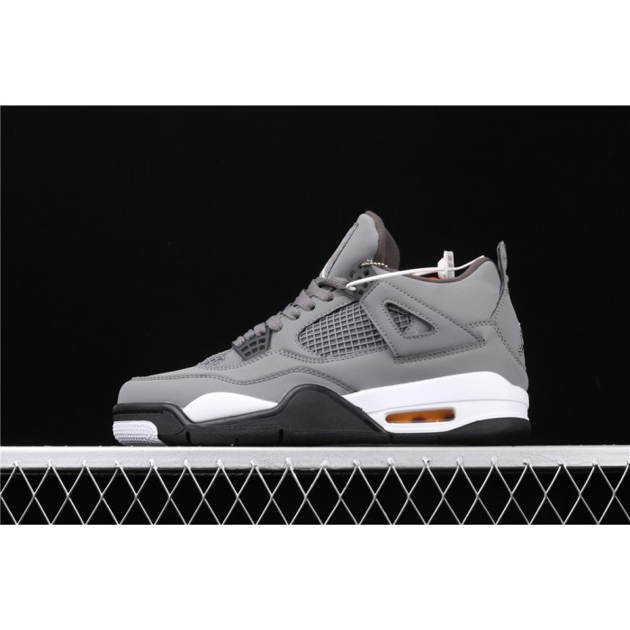 Men's Air Jordan 4 Retro Flight In Cool Grey AJ4 Shoe