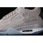 Men's Air Jordan 4 Retro Flight In Gray AJ4 Shoe