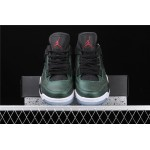 Men's Air Jordan 4 Retro Flight In Metal Green AJ4 Shoe