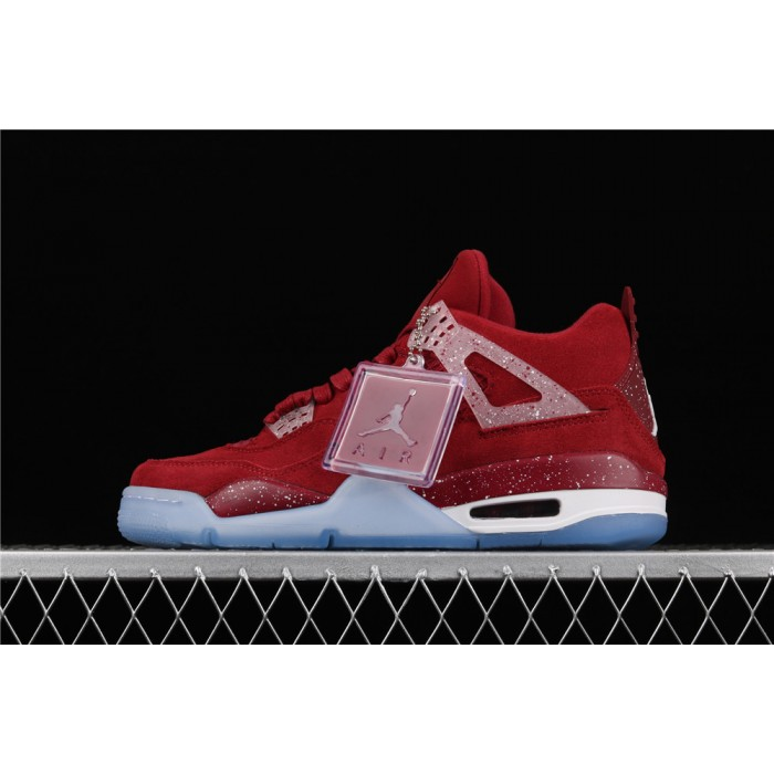Men's Air Jordan 4 Retro Flight In Red AJ4 Shoe