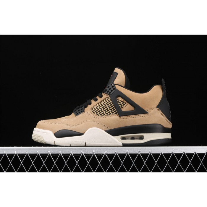 Men's Air Jordan 4 Retro Mushroom In Brown AJ4 Shoe