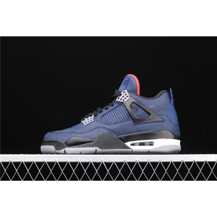 Men's Nike Air Jordan 4 Eminem Wntr Loyal Blue AJ4 Shoe