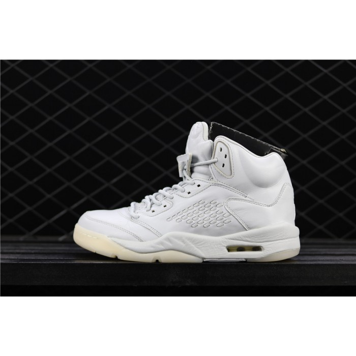 Men's Air Jordan 5 Premium Full White AJ5 Shoe