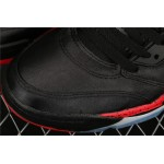 Men's Air Jordan 5 Satin Bred Black Red AJ5 Shoe