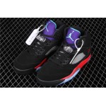 Men's Air Jordan 5 Top 3 Purple Black Red AJ5 Shoe
