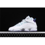Air Jordan 6 Rings Concord XIolympic In White Silver AJ6 Shoe