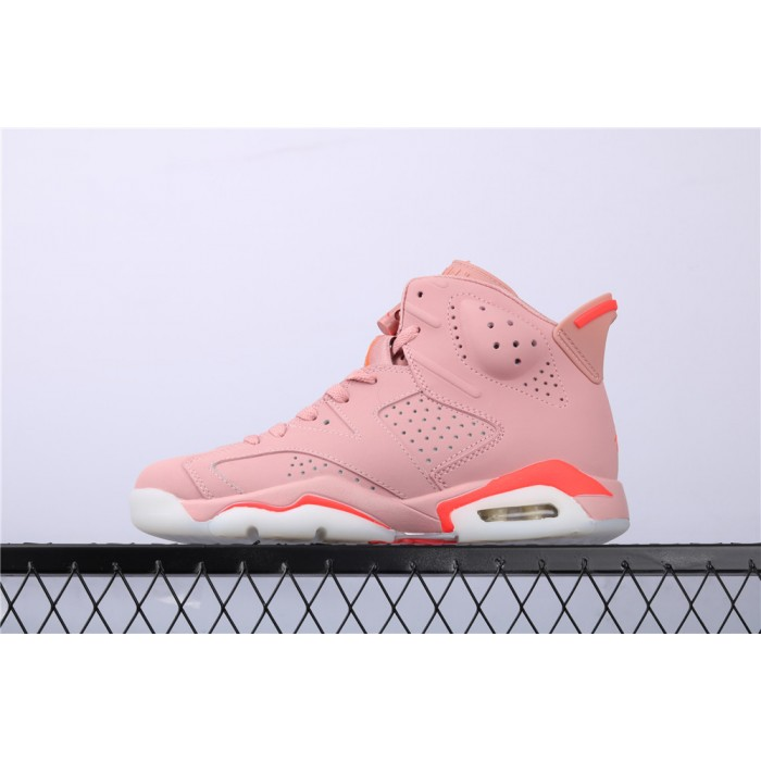 Air Jordan 6 x Aleali May In Pink AJ6 Shoe