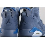 Men's Air Jordan 6 Jimmy Butler In Blue AJ6 Shoe