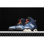 Men's Air Jordan 6 Retro Denim In Blue AJ6 Shoe